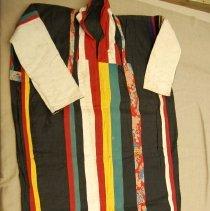 Image of Artist unknown, Men's funeral shirt, Laos, Cotton