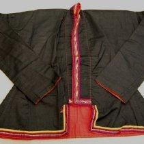 Image of Artist unknown,Jacket,1946-69,Tai Lue/Sayabouri Province/Laos,Cotton/Silk