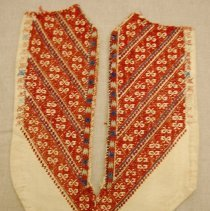 Image of Artist unknown,Bib front,early 20thcent,Palestinian or Syrian,Cotton