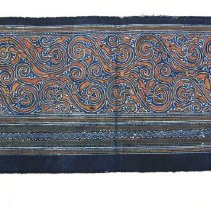 Image of Artist unknown,Jacket sleeve,1980s,Zhijin County/Guizhou Province/China,Bat