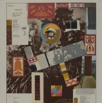 Image of R. B. Kitaj, Hellebore: for Georg Trakl, 1965, Serigraph, 28x19in