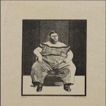 Image of Peter Blake, Fat Boy from the Side-Show folio, 1974-1978