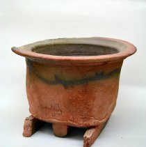 Image of Tim Segar, Untitled (raku vessel), 1975, Ceramic