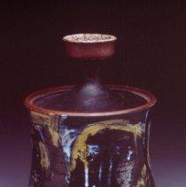 Image of Peter Voulkos, Lidded Vessel, 1954-58, Ceramic
