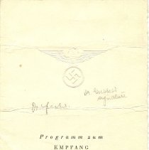 Image of Documents re 550th Anniversary of Heidelberg University, 1935, Paper