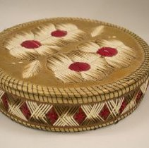 Image of Sandra Dal Pogetto, Ojibway Basket, Wood, 7' diameter