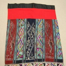 Image of Artist unknown, Skirt, early 20th cent, Cotton/Silk
