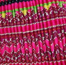 Image of Artist unknown, Hmong skirt (detail), 1969, Cotton/silk