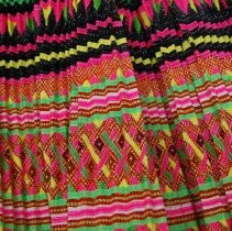 Image of Artist unknown, Hmong skirt (detail), ca1980's, Cotton/silk