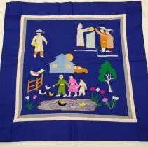 Image of Thia Thoua, Story cloth, 1990, Cotton