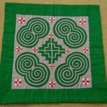 Image of Xia Thao, Decorative cloth, 1988, Cotton