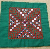 Image of Mao Yang, Decorative cloth, 1988, Cotton