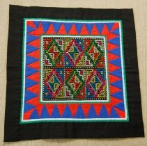 Image of Mao Yang, Decorative cloth, ca 1980's, Cotton