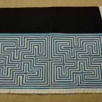 Image of Thia Thao, Funeral collar, ca 1980's, Cotton