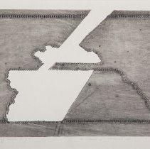 Image of Alena Kucerova, Untitled (Framed Abstraction), 1967, Intaglio, 8x12in