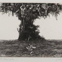 Image of Jacek Gaj, Tree (Drzewo), 1965, Intaglio, 10x15in