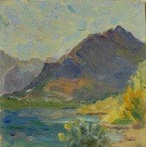 Image of Josephine Hale, Untitled (Glacier National Park, Oil, 9x11in