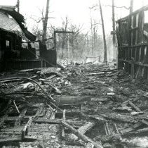 Image of Deer Grove Camp Building Clubhouse after 11/75 fire - pc-6-2-1-t-m