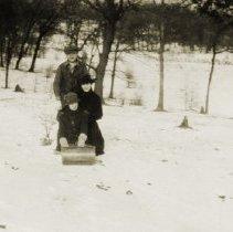 Image of Deer Grove Camp - Winter Activities - Tobogganing - pc-6-2-3-h-m