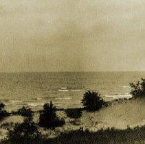 Image of Hazelhurst Views - Beach at Hazelhurst by Clara Jacobson (Flury Family Collection) - pc-6-4-2-l-m