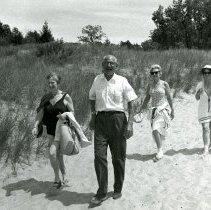 Image of Hazelhurst Camp SUmmer Activities - Swimming - Walking to Beach