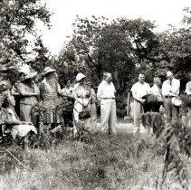 Image of Hazelhurst Special Events - Dedication of Memorial Trees 1942 - pc-6-4-5-a-m