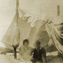 Image of Tremont Beach Camp - Early Photos 1918 - People Unidentified - pc-6-6-2-b2-m