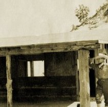 Image of Dunes, Indiana - Tremont Beach Camp Cabins on Beach - 1922 - pc-6-6-3-a2-m