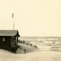 Image of Dunes, Indiana - Tremont Beach Camp - Views of Beach Cabins - Undated - pc-6-6-3-b4-m