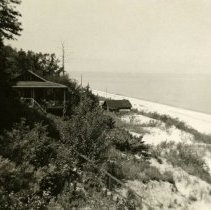 Image of Dunes, Indiana - Tremont Beach House View - Undated - pc-6-6-4-d3-m