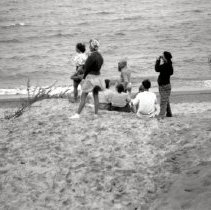 Image of Dunes, Indiana - Beach Activities - Swimming & Sunbathing - pc-6-6-7-d5-m