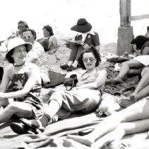 Image of Dunes, Indiana - Beach Activities - Swimming & Sunbathing - pc-6-6-7-d6-m
