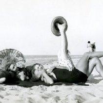Image of Dunes, Indiana - Beach Activities - Sunbathing & Swimming - pc-6-6-7-f2-m