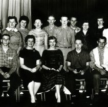 Image of CHS - students posing for photo