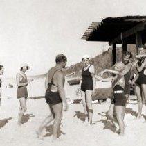 Image of Dunes, Indiana - Beach Activities - Beach Party - pc-6-6-9-c-m