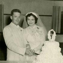 Image of Bride and Groom                                                                                                                                                                                                                                                - weddingsann-078
