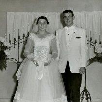 Image of Bride and Groom                                                                                                                                                                                                                                                - weddingsann-100