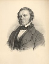 Image of Litografi af Johan Georg Forchhammer . Lithography of Johan Georg Forchhamm