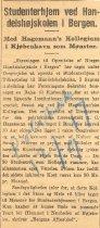 Image of Udklippet af artiklen . A clipping of the article