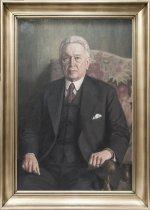 Image of Portræt af G. Schønweller, professor i vandbygning ved Polyteknisk Læreanstalt (1911-1946)