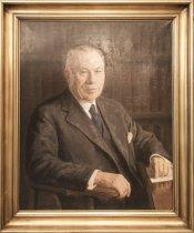 Image of Portræt af Martin Knudsen, professor i fysik ved Københavns Universitet og Polyteknisk Læreanstalt 1912-1941 samt af Fysisk Samling på Polyteknisk Læreanstalt