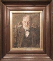Image of Portræt af Chr. Christiansen, docent i fysik ved Polyteknisk Læreanstalt (1876-1886) og professor i fysik ved Københavns Universitet og Polyteknisk Læreanstalt (1886-1912)