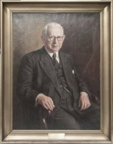 Image of Portræt af Erland Thaulow, professor i mekanisk teknologi ved Polyteknisk Læreanstalt fra1918