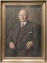 Image of Portræt af P.M. Frandsen, professor i bygningsstatik og elasticitetsteori (1922-1950) på Polyteknisk Læreanstalt