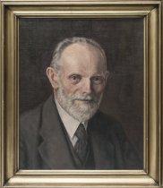Image of Portræt af Helge Holst (1871-1994), bibliotekar på Danmarks Tekniske Bibliotek