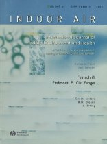 Image of Indoor air International Journal of Indoor Environment and Health