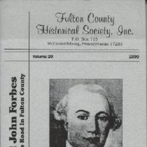 Image of Gen. John Forbes and the Forbes Road in Fulton County