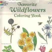 Image of Favorite Wildflowers Coloring Book.