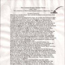 Image of 1997.2.3 - Conococheague Pioneer Times