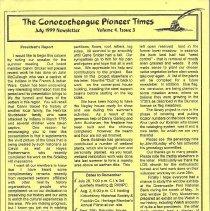 Image of 1999.1.3 - Conococheague Pioneer Times